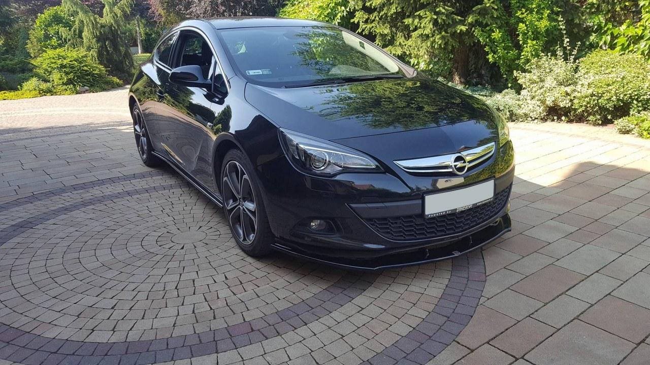 Splitter Przedni Opel Astra J GTC - GRUBYGARAGE - Sklep Tuningowy
